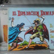 Tebeos: EL ESPADACHÍN ENMASCARADO. TOMO 3 CON LOS NROS.:9,10,11,12. VALENCIANA 1981.. Lote 127938531