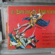 Tebeos: EL ESPADACHÍN ENMASCARADO. TOMO 5 CON LOS NROS.:17,18,19,20 VALENCIANA 1981.. Lote 127938667