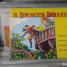 Tebeos: EL ESPADACHÍN ENMASCARADO. TOMO 6 CON LOS NROS.:21,22,23,24 VALENCIANA 1981.. Lote 127938723