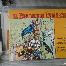 Tebeos: EL ESPADACHÍN ENMASCARADO. TOMO 7 CON LOS NROS.:25,26,27,28. VALENCIANA 1981.. Lote 127938839