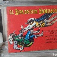 Tebeos: EL ESPADACHÍN ENMASCARADO. TOMO 9 CON LOS NROS.:33,34,35,35 VALENCIANA 1981.. Lote 127939099