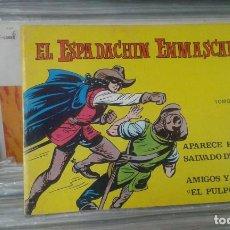 Tebeos: EL ESPADACHÍN ENMASCARADO. TOMO 10 CON LOS NROS.:37,38,39,40. VALENCIANA 1981.. Lote 127939231