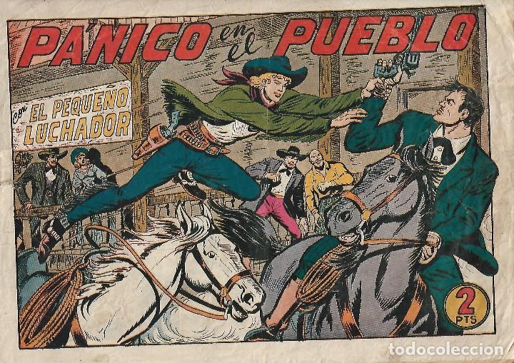 EL PEQUEÑO LUCHADOR NUMERO 175: PANICO EN EL PUEBLO-ORIGINAL (Tebeos y Comics - Valenciana - Pequeño Luchador)