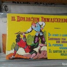 Tebeos: EL ESPADACHÍN ENMASCARADO. TOMO 4 CON LOS NROS.:13,14,15,16. VALENCIANA 1981.. Lote 128032539