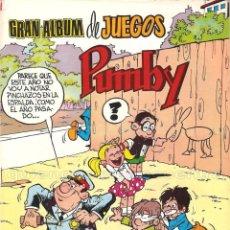 Tebeos: PUMBY LOTE 3 COMICS EDITORIAL VALENCIANA PUMBY AÑO XXX 1203-1204 JUEGOS 59 NUEVOS 1987. Lote 128274203