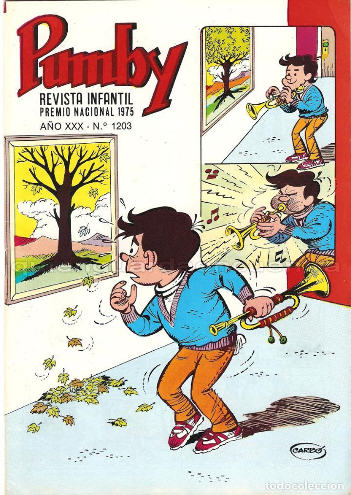 Tebeos: Pumby lote 3 comics Editorial Valenciana Pumby año XXX 1203-1204 juegos 59 nuevos 1987 - Foto 2 - 128274203