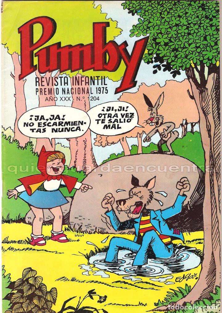 Tebeos: Pumby lote 3 comics Editorial Valenciana Pumby año XXX 1203-1204 juegos 59 nuevos 1987 - Foto 3 - 128274203