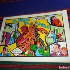 Tebeos: BUEN ESTADO, ROBERTO ALCÁZAR Y PEDRÍN Nº 7 EL MONTE DEL DIABLO. VALENCIANA 1981. 60 PTS. . Lote 128336875