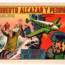 Tebeos: ROBERTO ALCAZAR Y PEDRIN. LOS PIRATAS DEL NORTE. Nº 806. AÑO 1968. Lote 128341818