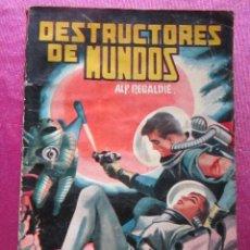 Tebeos: LUCHADORES DEL ESPACIO, Nº 28, DESTRUCTORES DE MUNDOS,. Lote 128425815