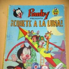 Tebeos: LIBROS ILUSTRADOS PUMBY, Nº 8, COHETE A LA LUNA, ED. VALENCIANA, ERCOM B3. Lote 128439423