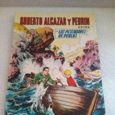 Tebeos: ROBERTO ALCAZAR Y PEDRIN EXTRA Nº 21 LOS PESCADORES DE PERLAS VALENCIANA 1966 ORIGINAL DIFICIL. Lote 128528339