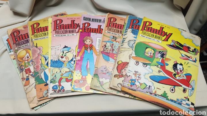 LOTE DE 19 TEBEOS DE PUMBY, ED. VALENCIANA (Tebeos y Comics - Valenciana - Pumby)