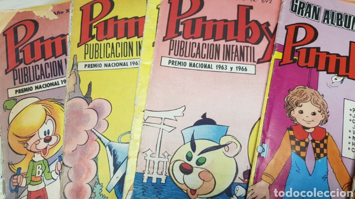 Tebeos: Lote de 19 tebeos de pumby, ed. valenciana - Foto 3 - 128606096
