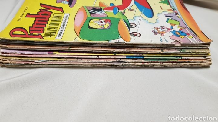Tebeos: Lote de 19 tebeos de pumby, ed. valenciana - Foto 5 - 128606096