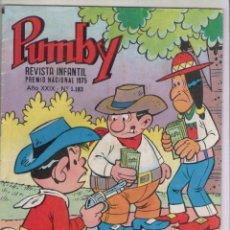 Tebeos: PUMBY-AÑO 1975-EDIVAL-VALENCIANA-COLOR-FORMATO GRAPA-Nº 1183. Lote 128645075