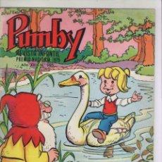 Tebeos: PUMBY-AÑO 1975-EDIVAL-VALENCIANA-COLOR-FORMATO GRAPA-Nº 985. Lote 128645163