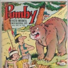 Tebeos: PUMBY-AÑO 1975-EDIVAL-VALENCIANA-COLOR-FORMATO GRAPA-Nº 969. Lote 128645267