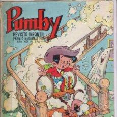 Tebeos: PUMBY-AÑO 1975-EDIVAL-VALENCIANA-COLOR-FORMATO GRAPA-Nº 976. Lote 128645343