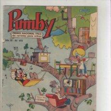 Tebeos: PUMBY-AÑO 1975-EDIVAL-VALENCIANA-COLOR-FORMATO GRAPA-Nº 410. Lote 128645771