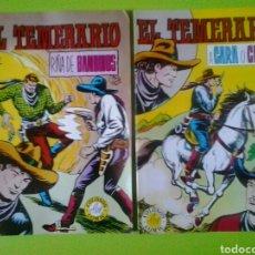Tebeos: EL TEMERARIO NÚMEROS 4 Y 5 GAGO VALENCIANA COLOSOS DEL COMIC. Lote 128651864
