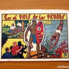 Tebeos: SELECCIÓN AVENTURERA - EN EL PAIS DE LAS PERLAS - EDITORIAL VALENCIANA 1940. Lote 128725587