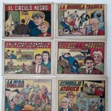 Tebeos: ROBERTO ALCAZAR Y PEDRIN, ED. VALENCIANA PRIMERA EPOCA (LOTE 8 COMICS). Lote 128747255