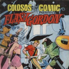 Tebeos: COMIC FLASH GORDON, Nº 7 - COLOSOS DEL COMIC; EDITORIAL VALENCIANA. Lote 129025347