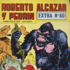 Giornalini: COMIC ROBERTO ALCAZAR Y PEDRIN EXTRA, Nº 60 - EDITORIAL VALENCIANA. Lote 141735980