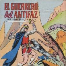 Tebeos: COMIC EL GUERRERO DEL ANTIFAZ, Nº 333 - EDITORIAL VALENCIANA. Lote 129027503