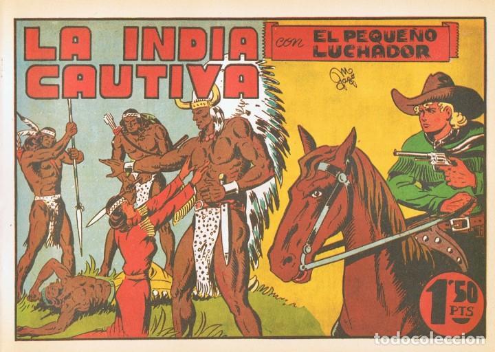 LA INDIA CAUTIVA CON ¨EL PEQUEÑO LUCHADOR¨ Nº 9 FACSÍMIL (Tebeos y Comics - Valenciana - Pequeño Luchador)