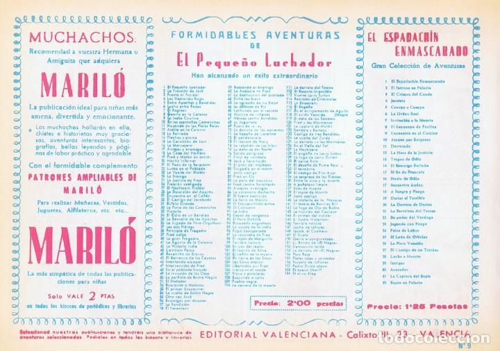 Tebeos: LA INDIA CAUTIVA CON ¨EL PEQUEÑO LUCHADOR¨ Nº 9 FACSÍMIL - Foto 2 - 129217939
