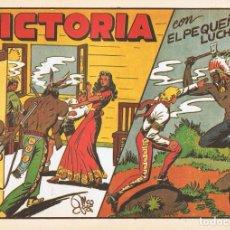 Tebeos: VICTORIA CON ¨EL PEQUEÑO LUCHADOR¨ Nº 33 FACSÍMIL . Lote 129223771