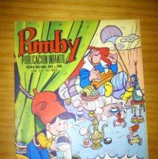 Tebeos: PUMBY - NÚMERO 805 - AÑO 1973 - PERFECTO ESTADO. Lote 129231539