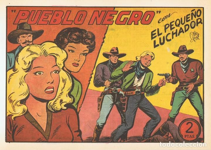 PUEBLO NEGRO CON EL PEQUEÑO LUCHADOR Nº 109 FACSÍMIL (Tebeos y Comics - Valenciana - Pequeño Luchador)