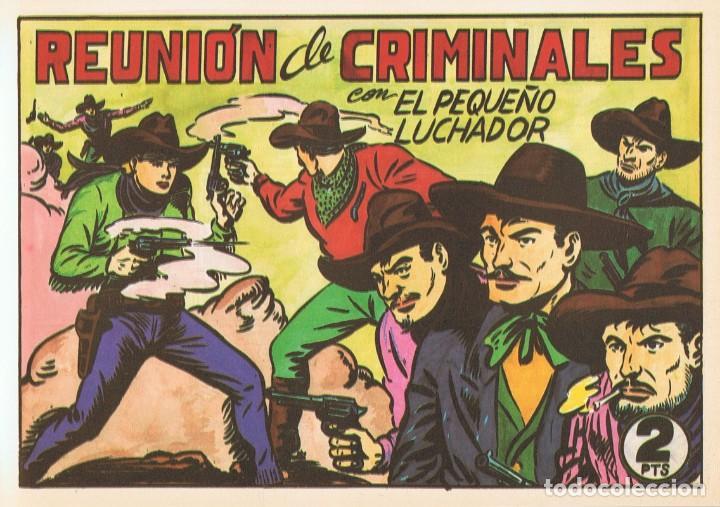 REUNIÓN DE CRIMINALES CON EL PEQUEÑO LUCHADOR Nº 114 FACSÍMIL (Tebeos y Comics - Valenciana - Pequeño Luchador)
