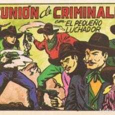 Tebeos: REUNIÓN DE CRIMINALES CON EL PEQUEÑO LUCHADOR Nº 114 FACSÍMIL . Lote 129435563