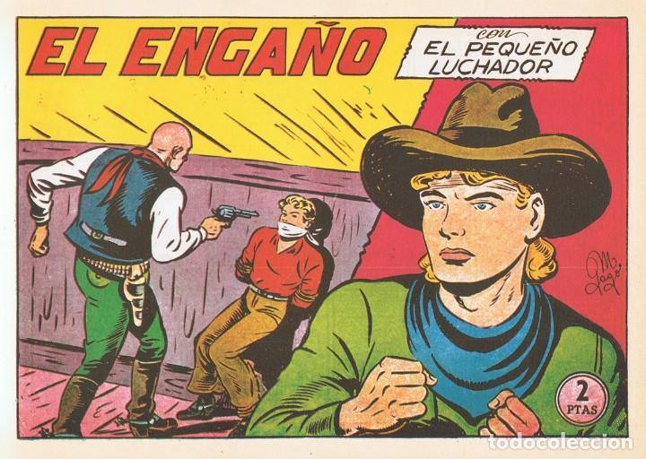 EL ENGAÑO CON EL PEQUEÑO LUCHADOR Nº 116 FACSÍMIL (Tebeos y Comics - Valenciana - Pequeño Luchador)
