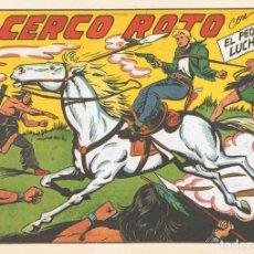 Tebeos: EL CERCO ROTO CON EL PEQUEÑO LUCHADOR Nº 130 FACSÍMIL . Lote 129438167