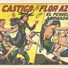 Tebeos: EL CASTIGO DE ¨FLOR AZUL¨CON EL PEQUEÑO LUCHADOR Nº 133 FACSÍMIL . Lote 129438687