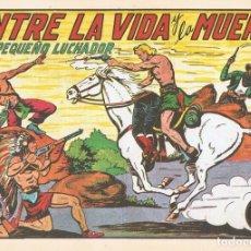 Tebeos: ENTRE LA VIDA Y LA MUERTE CON EL PEQUEÑO LUCHADOR Nº 135 FACSÍMIL . Lote 129598191