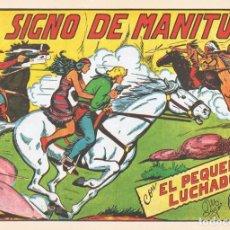 Tebeos: EL SIGNO DE MANITÚ CON EL PEQUEÑO LUCHADOR Nº 138 FACSÍMIL . Lote 129599507