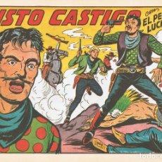Tebeos: JUSTO CASTIGO CON EL PEQUEÑO LUCHADOR Nº 139 FACSÍMIL . Lote 129600259