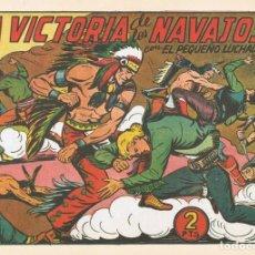 Tebeos: LA VICTORIA DE LOS NAVAJOS CON EL PEQUEÑO LUCHADOR Nº 140 FACSÍMIL . Lote 129600403