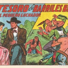 Tebeos: EL TESORO DE ¨BARRILES BILL¨ CON EL PEQUEÑO LUCHADOR º 141 FACSÍMIL . Lote 129600575