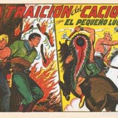 Tebeos: LA TRAICIÓN DEL CACIQUE CON EL PEQUEÑO LUCHADOR Nº 143 FACSÍMIL . Lote 129601319