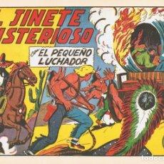 Tebeos: EL JINETE MISTERIOSO CON EL PEQUEÑO LUCHADOR Nº 145 FACSÍMIL. Lote 129601691