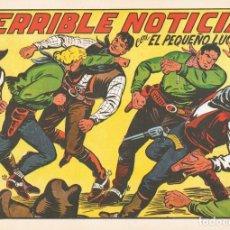 Tebeos: TERRIBLE NOTICIA CON EL PEQUEÑO LUCHADOR Nº 146 FACSÍMIL . Lote 129601847