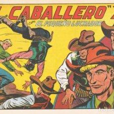 Tebeos: EL CABALLERO ¨X¨ CON EL PEQUEÑO LUCHADOR Nº 170 FACSÍMIL . Lote 129604951