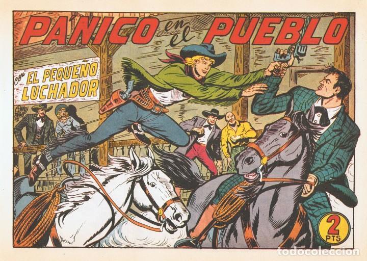 PÁNICO EN EL PUEBLO CON EL PEQUEÑO LUCHADOR Nº 175 FACSÍMIL (Tebeos y Comics - Valenciana - Pequeño Luchador)